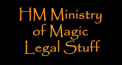 HM Ministry of Magic Legal stuff