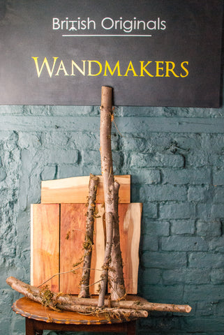 Yew wand wood timber