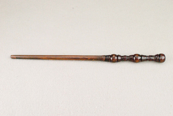 13 1/4 Inch, Alder, Real wood Wand  | Handmade & Unique |