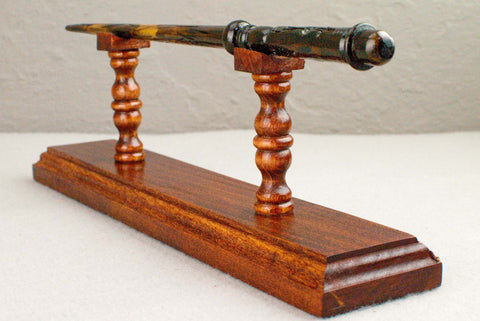 Cypress ( Red ) - Wand Display Stand - Reclaimed wood c 200 years old.