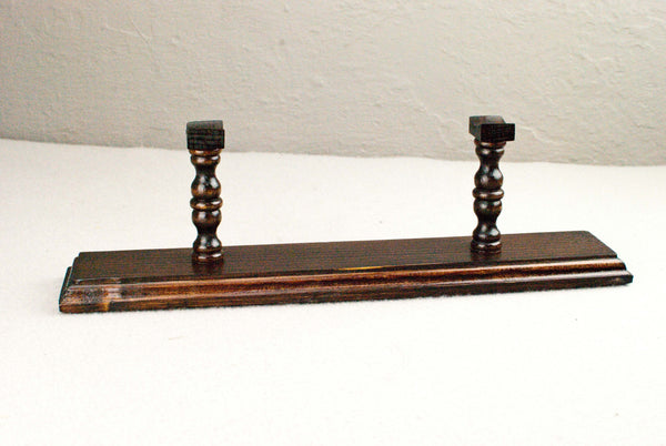 Pine ( Rosewood colour) - Wand Display Stand - Reclaimed wood & Handmade