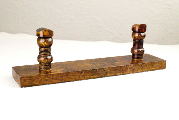Solid Light Oak - Wand Display Stand - Reclaimed wood & Handmade