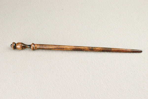 12 1/4 Inch, Beech, Real wood Wand,  | Antique Wood | Handmade |