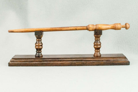 WAND DISPLAY STAND | GOLDEN OAK | 280 YEAR OLD ENGLISH OAK | HANDMADE |