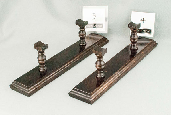 WAND DISPLAY STAND, 12 INCH  | 280 YEAR OLD ANTIQUE ENGLISH OAK | HANDMADE |