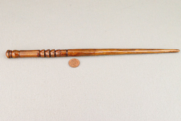 13 1/8th Inch, Cedar, Real wood Wand  | Handmade & Unique |