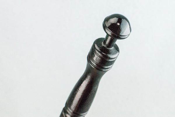 12 1/4 INCH | EBONY | SOLID BEECH  REAL WOOD WAND