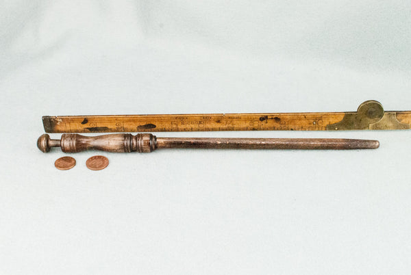 12 1/4 INCH | RED BROWN | SOLID BEECH  REAL WOOD WAND
