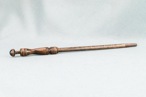 12 1/4 INCH | ANTIQUE WOOD | SOLID BEECH  REAL WOOD WAND