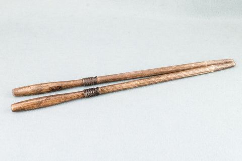 12 & 3/4 INCH ASH | ANTIQUE WOOD TONE | REAL WOOD WAND