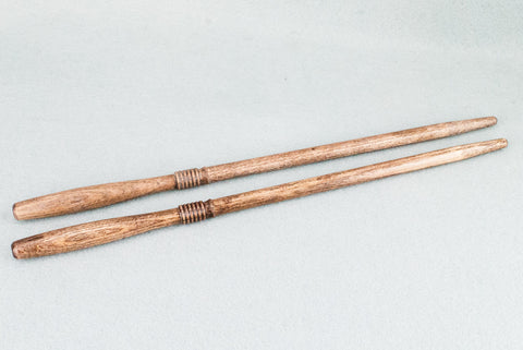 12 & 3/4 INCH ASH | WALNUT TONE | REAL WOOD WAND