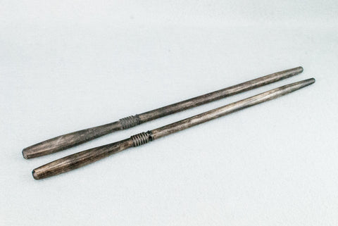 12 & 3/4 INCH ASH | TUDOR BROWN TONE | REAL WOOD WAND