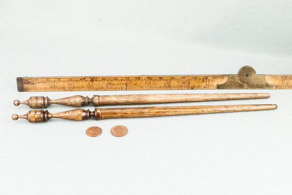 13 INCH | OLD PINE TONE ENGLISH OAK | REAL WOOD WAND