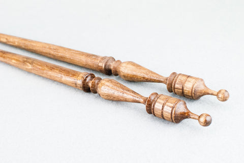 13 INCH | PALE OAK TONE ENGLISH OAK | REAL WOOD WAND