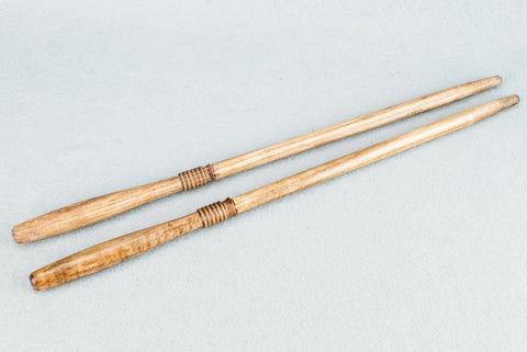12 & 3/4 INCH ASH | PALE OAK TONE | REAL WOOD WAND