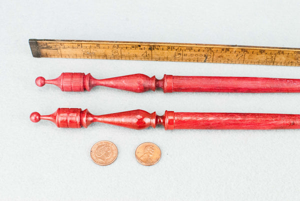 13 INCH | RED RED TONE ENGLISH OAK | REAL WOOD WAND