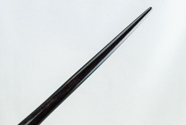 EBONY SYCAMORE 12 & 1/8th INCH | HANDMADE REAL WOOD WAND