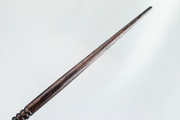 CHESTNUT 13 & 1/2 INCH,  REAL WOOD WAND  |  HANDMADE