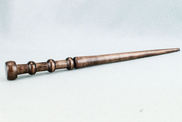 SYCAMORE 12 & 1/8th INCH | REGENCY BROWN HANDMADE REAL WOOD WAND