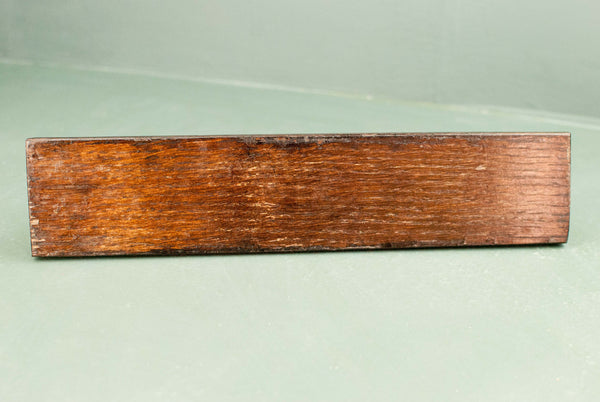 Wand Display Stand - Rosewood Tone | 180 y/o reclaimed English oak & Handmade | Style #3
