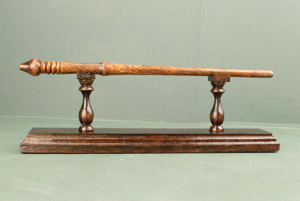 Wand Display Stand - Rosewood Tone | 180 y/o reclaimed English oak & Handmade | Style #4