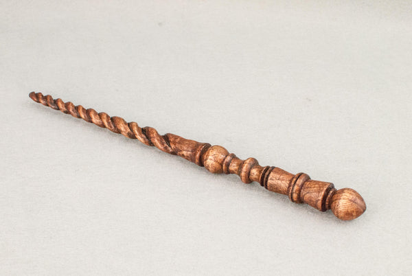 Ash 10 3/4 Inch, Lacquer finish |  Custom order wand