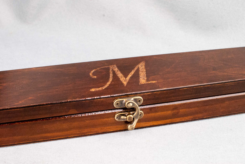 Carving | Personalise your real wood wand with hand carved designs or initials |