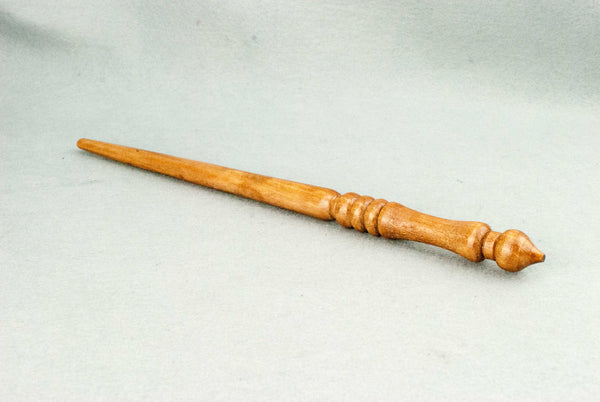 12 1/4 Inch Alder, Real wood Wand  | Handmade & Unique |