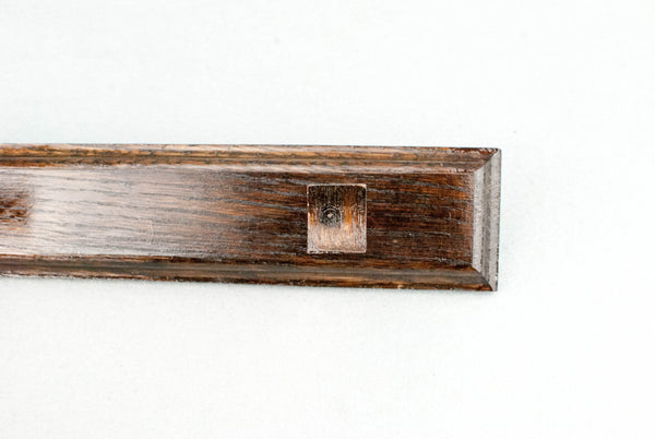 Wand Display Stand  -180 y/o reclaimed English oak & Rosewood Tone | Handmade |