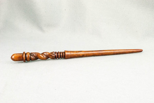 11 3/4 Inch Yew Real wood wand  | Handmade & Unique |