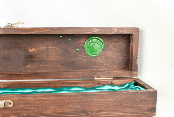 WAX SEAL CUSTOM COLOUR | Personalise your recycled card wand box or wooden wand case