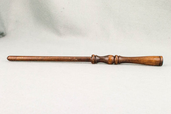 11 1/2 Inch, Beech, Real wood Wand,  | old pine tone | Handmade |