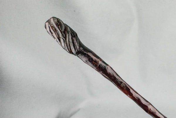 10 3/4  Inch, Apple, Real wood wand | Handmade & Unique |