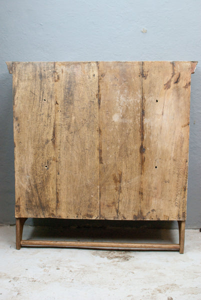 Vintage Pine Wall cupboard, ex meat safe, French Farmhouse style Antique