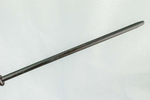 EBONY BEECH 12 INCH REAL WOOD WAND