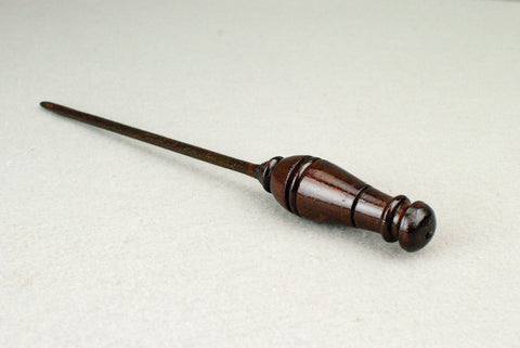 10  & 1/2th Inch Mahogany, Real Wooden Wand,  | Unique design, made by hand |