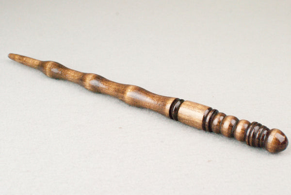 12 & 3/8ths Inch Tulipwood, Real wood Wand  | Handmade & Unique |