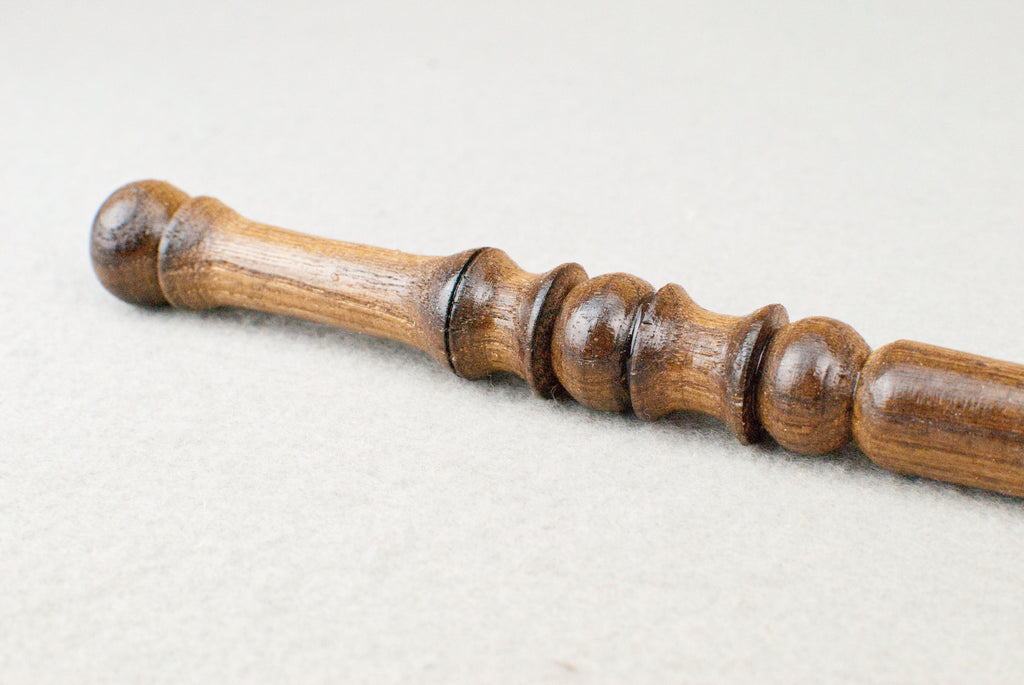 12 & 3/4 Inch Ash, Real wood Wand  | Handmade & Unique |