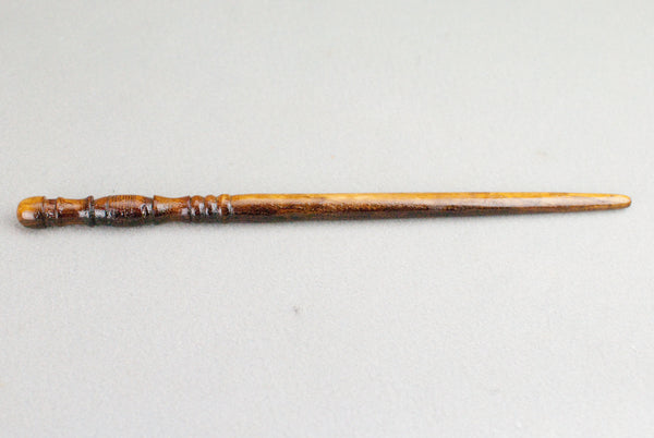 12 & 1/2 Inch 200 year old English Ash, Real wood Wand  | Handmade & Unique |