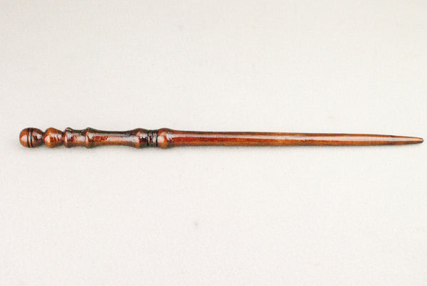 14 1/8 ths Inch Redwood, Real wood Wand  | Handmade & Unique |