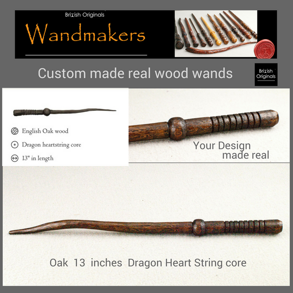 Custom Wand | Pottermore Wand #3 Style | Handmade |  Digital design, made real