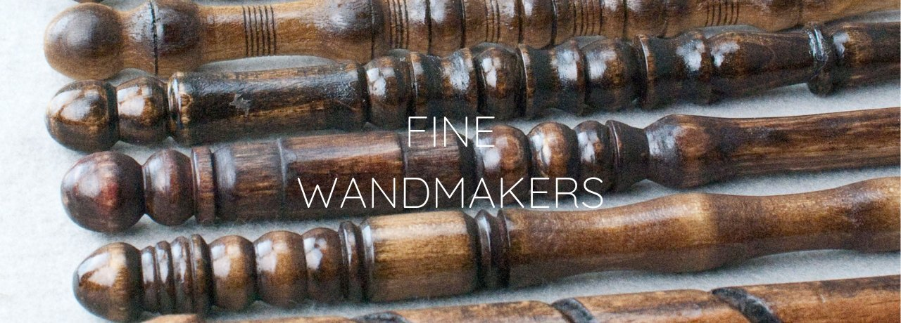 Wandmakers - Real Wood Magic* wands for Muggles & Wizards alike