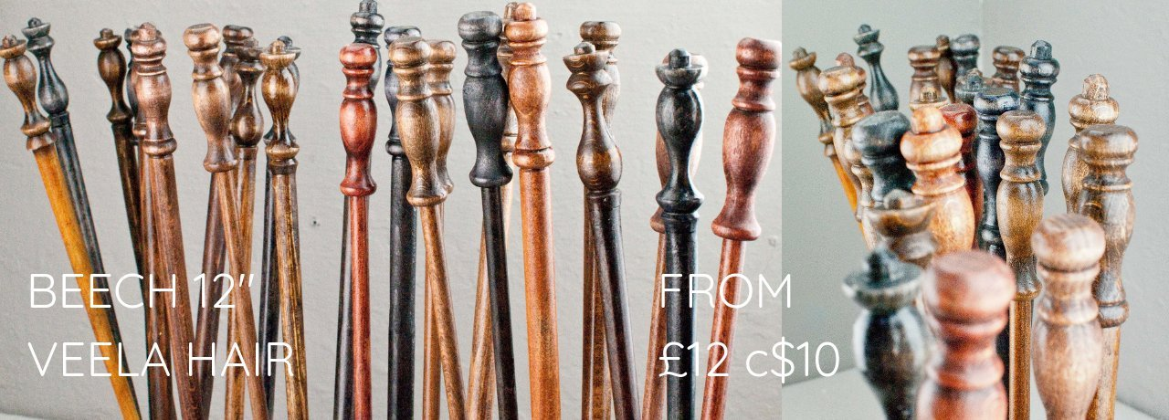 Real wood wands for sale starting from £12