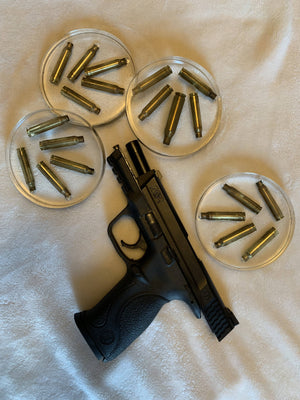 Empty Gun Shell Coasters - Cave Market Artisan Home Goods and Furniture