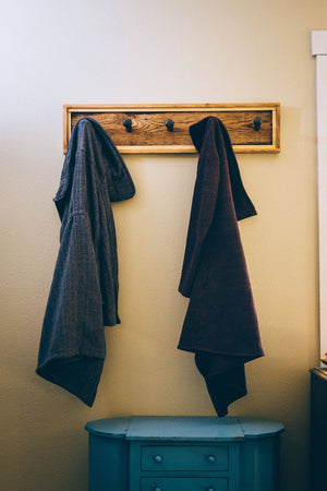Rustic Coat Rack - Cave Market Artisan Home Goods and Furniture