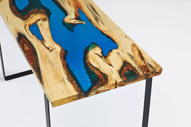 Custom River Tables - (item shown is sold) - Cave Market Artisan Home Goods and Furniture