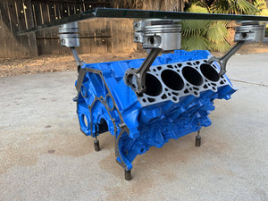 Engine Block Coffee Table - Cave Market Artisan Home Goods and Furniture
