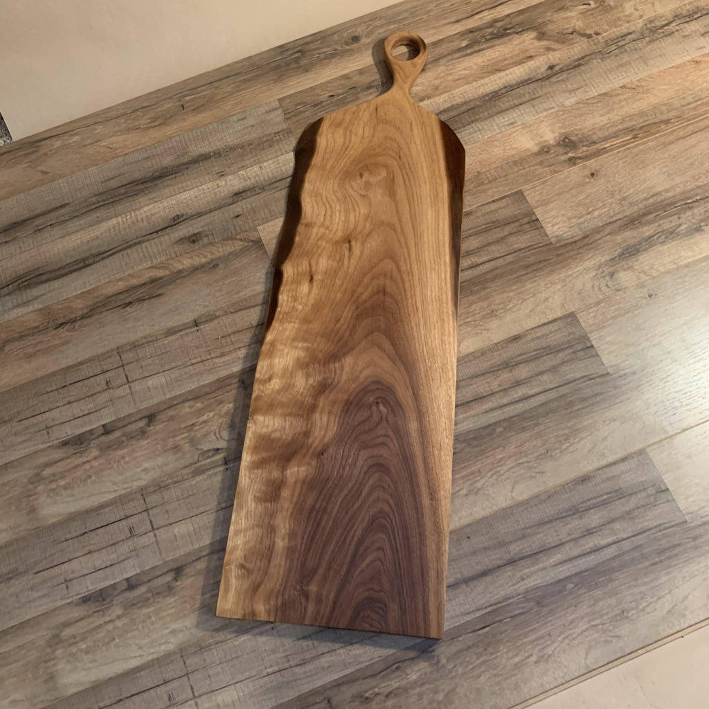 Live Edge Walnut Charcuterie Board - Cave Market Artisan Home Goods and Furniture