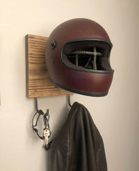 Rebar skull helmet rack - Cave Market Artisan Home Goods and Furniture