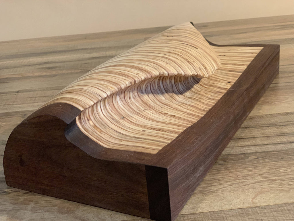 Carved Wave - Cave Market Artisan Home Goods and Furniture